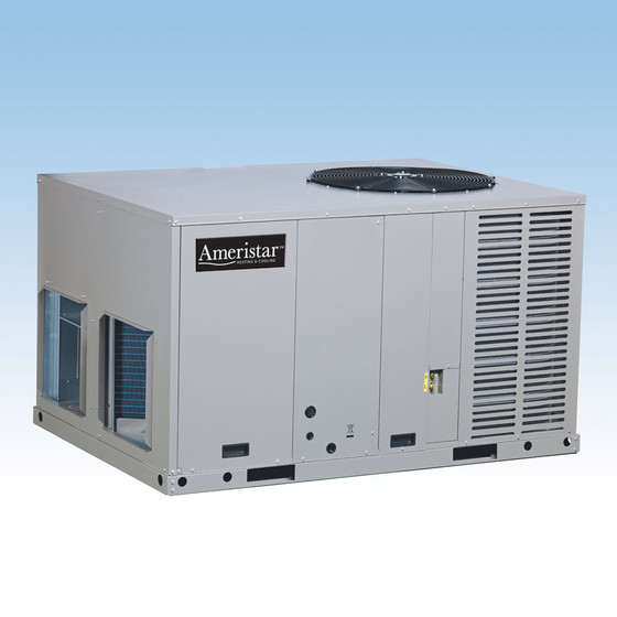 Ac Unit Prices >> 3.5 Ton 14 Seer Ameristar Heat Pump Package Unit - New AC Depot