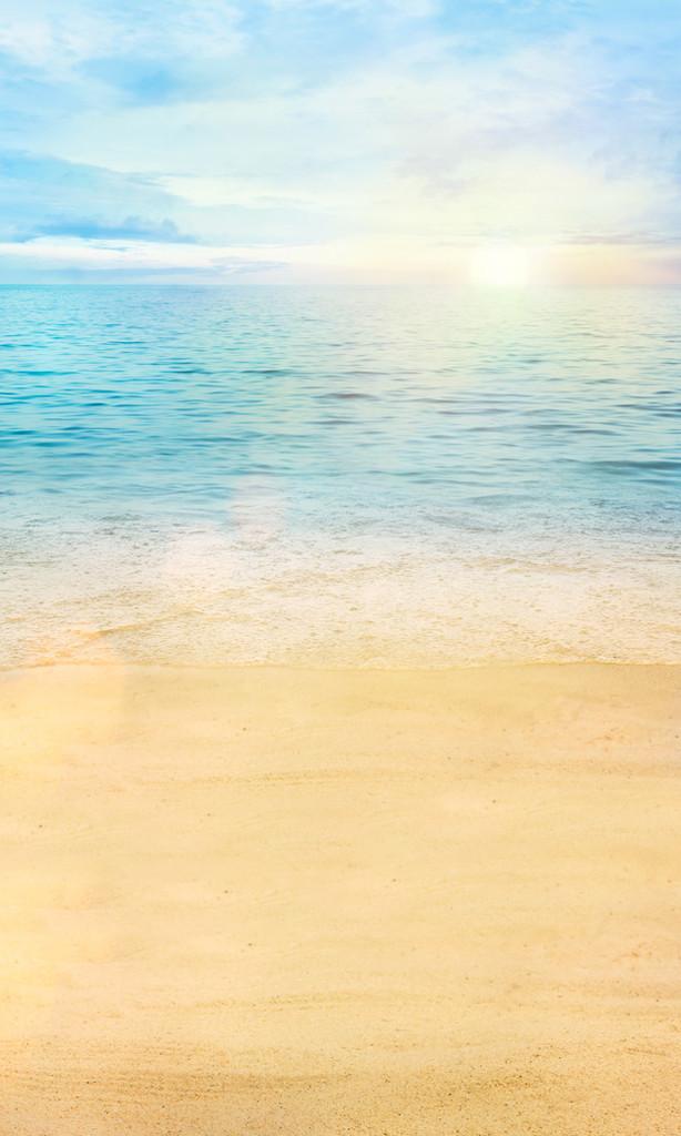 Calm Waves Backdrop
