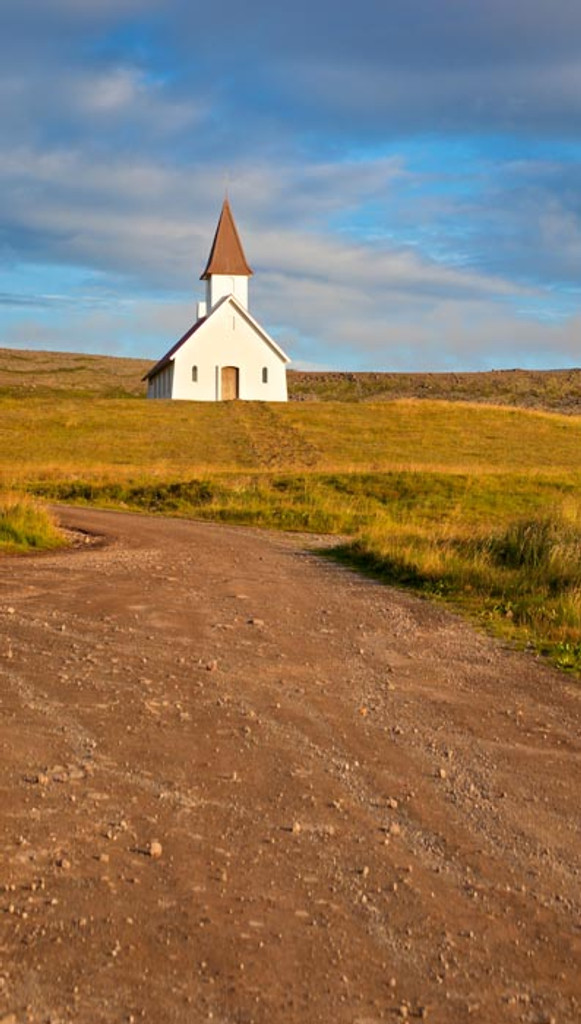 Frontier Church Backdrop