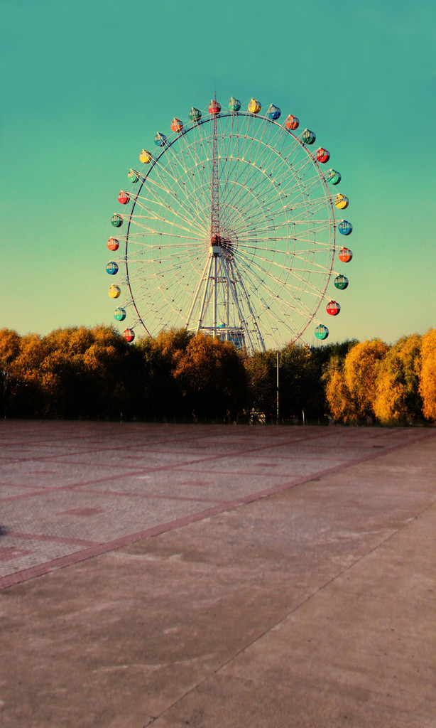 Ferris Wheel Photo Backdrop