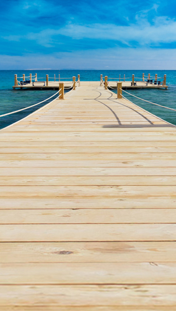 Dock on the Water Backdrop