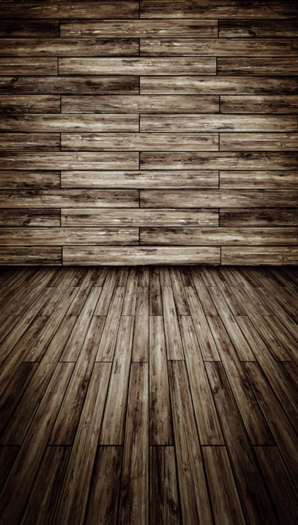 Horizontal Wood Planks Backdrop
