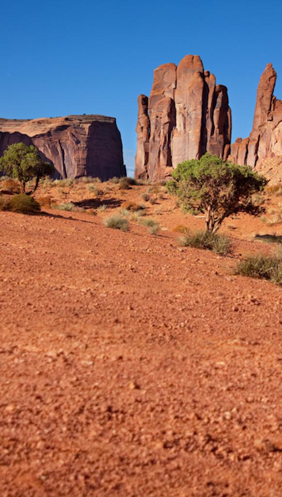 Desert Valley Backdrop