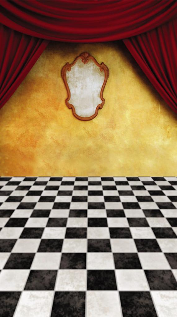 Magic Mirror Room Backdrop