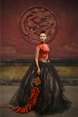 Asian Medallion Wall Photography Backdrops