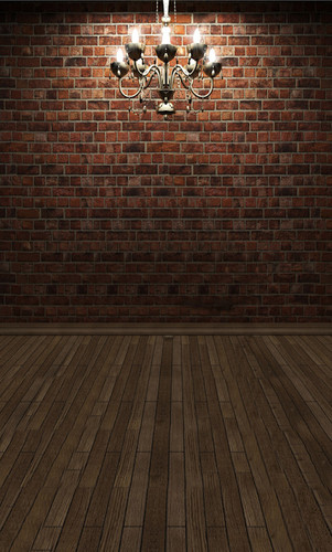 Elegant Brick Room Backdrop