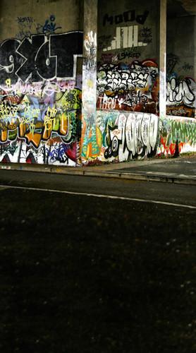 Graffiti Underpass Backdrop