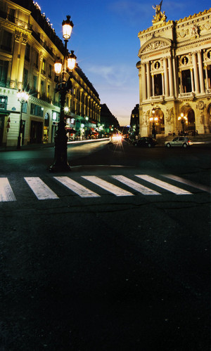 European Square Backdrop