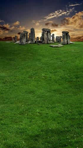 Stone Henge Backdrop
