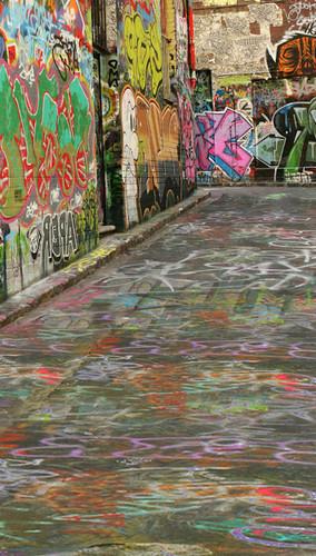 Melbourne Graffiti Backdrop