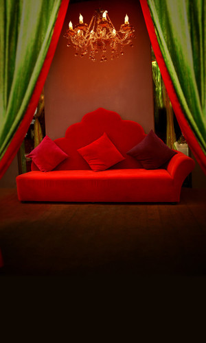 Chaise Lounge of Love Backdrop