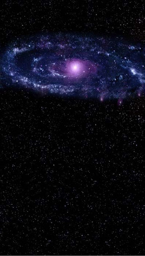 Indigo Galaxy Backdrop