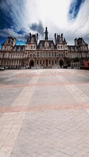 Parisian Chalet Backdrop