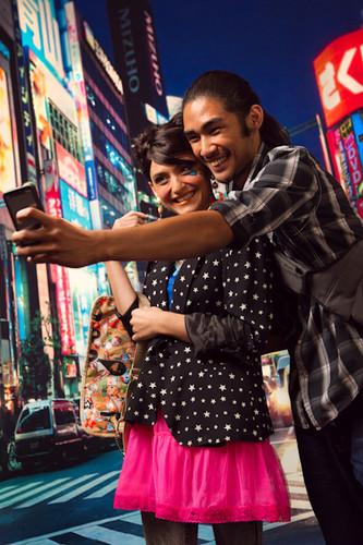 Tokyo Nights Photography Backdrops