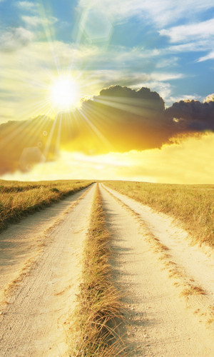 Sunburst Road Backdrop