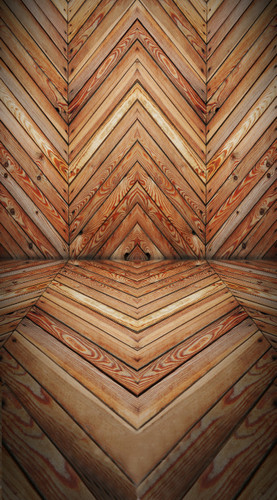 Chevron Planks Backdrop