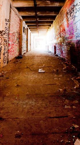 Graffiti Passage Backdrop