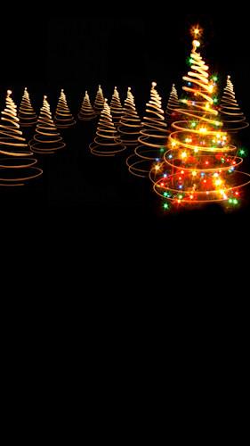 Light Twirl Tree Backdrop