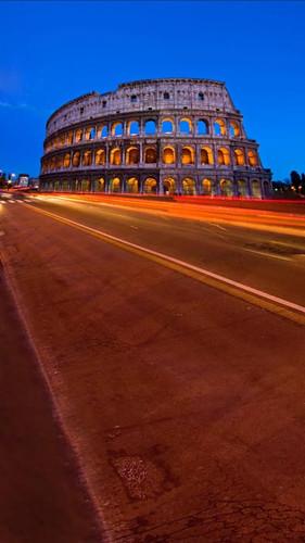 Roman Colosseum Backdrop