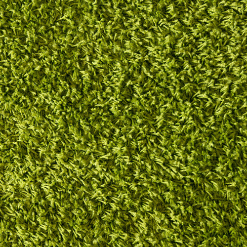 Green Shag Floor