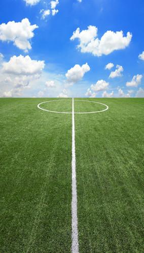 Soccer Field Backdrop