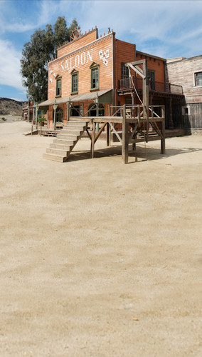 Old West Justice Backdrop