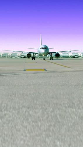 Airplane Runway Backdrop