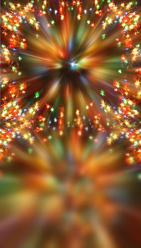 Christmas Kaleidoscope Lights