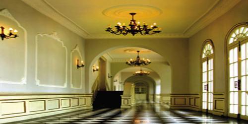 Sunlit Corridor Wide Format