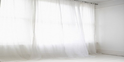 Sheer Curtain Wide Format