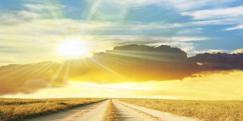 Sunburst Road Wide Format