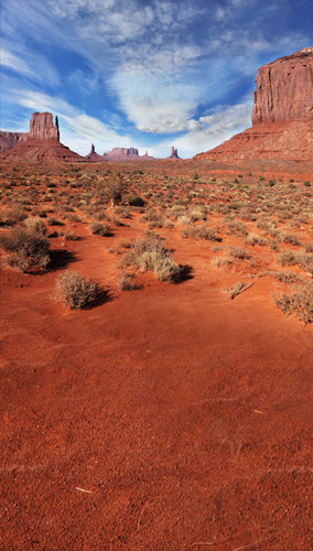 Desert Buttes Backdrop