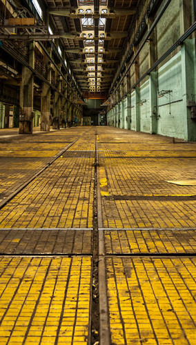 Industrial Warehouse Backdrop