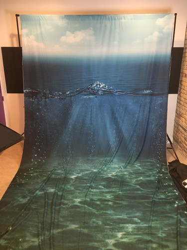 Under The Sea 9x16 JerseyCloth Backdrop