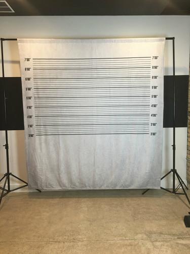 Mugshot 8x8 JerseyCloth Backdrop