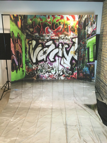 Graffiti Alley 9x15 PrismaCloth Backdrop
