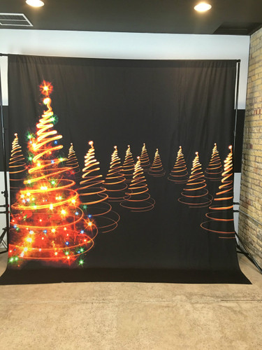 Light Twirl Tree 10x10 JerseyCloth Backdrop