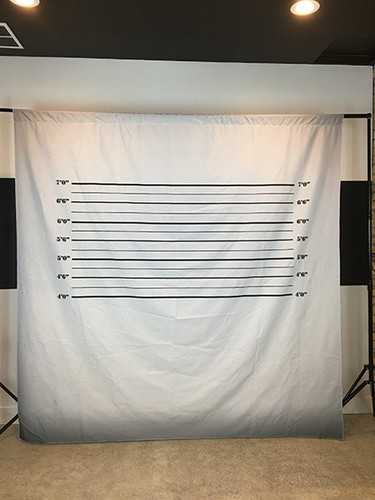 Mugshot 8x8 PrismaCloth Backdrop