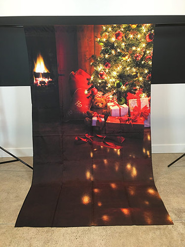 Cozy Christmas 5'x9' PrismaCloth Backdrop