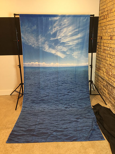 Ocean Scene 5x10 PrismaCloth Backdrop