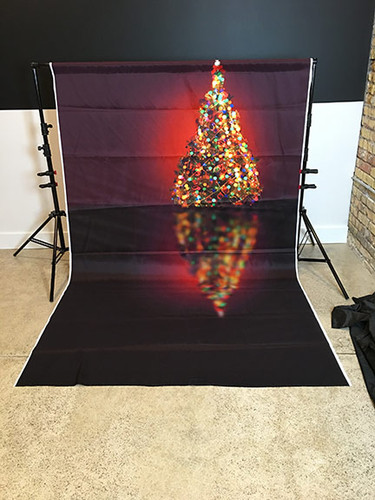 Bokeh Christmas 5x8 PrismaCloth Backdrop
