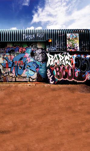 Graffiti Wall Photography Backdrops