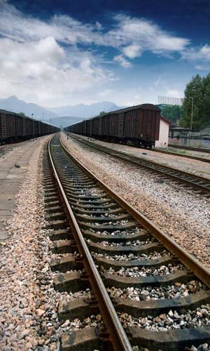 Rail Yard Photography Backdrops
