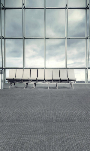 Airport Terminal Backdrop