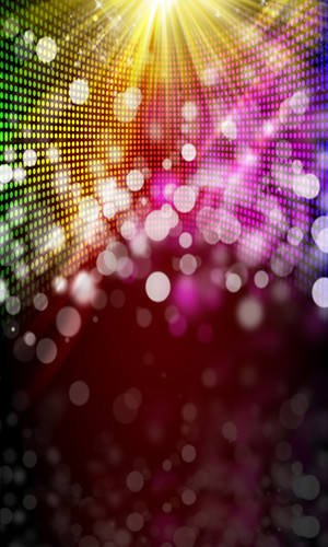 Bokeh Disco Backdrop