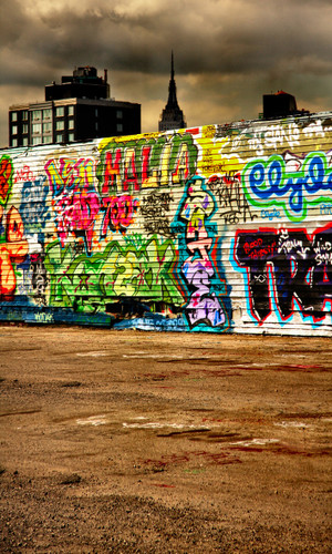 New York Graffiti Photography Backdrops