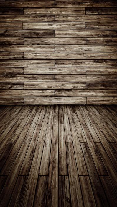 Horizontal wood planks backdrop photo pie