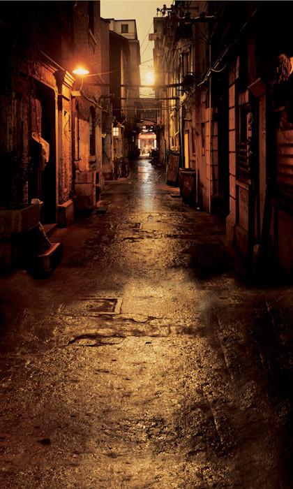 Dark Alley Backdrop Photo Pie