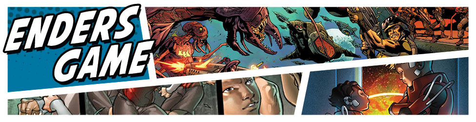 Rare comics from Marvel for Orson Scott Card's Ender's Game