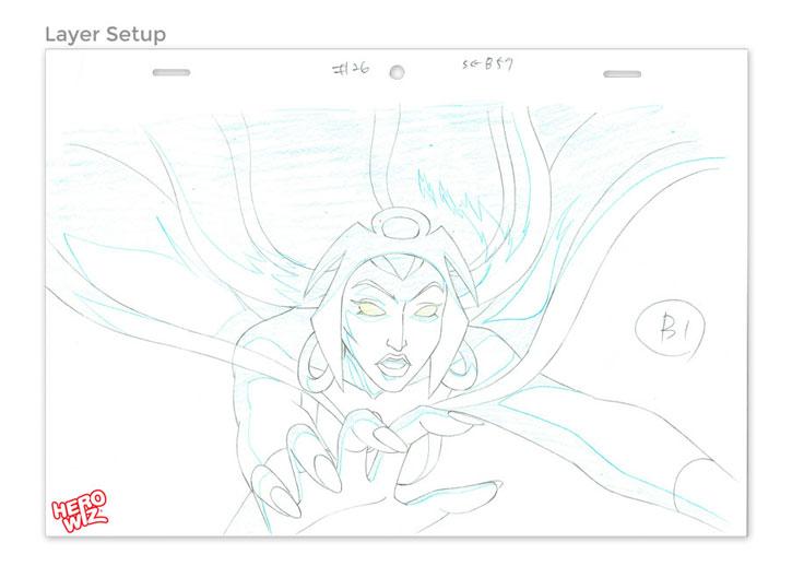 Marvel Animation Art Process - Layer Setup